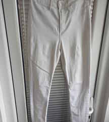 Bele duboke pantalone vel 27