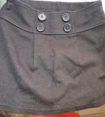 Crna suknja za devojčice