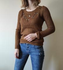Džemper sa kristalima