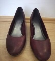 TAMARIS braon kožne cipele , 38 veličina