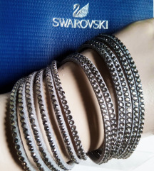Swarovski kozna narukvica/ogrlica,NOVO