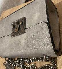 Siva torba sa lancem