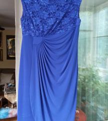 Svečana haljina sa čipkom bez rukava