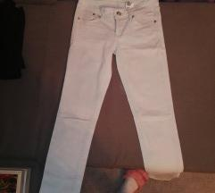 Belo tirkizne  pantalone