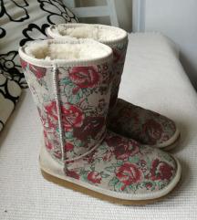 Ugg cizme-prava koža i krzno-Snizeno