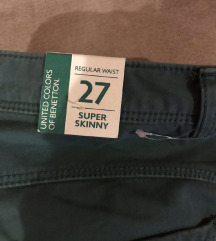 Benetton pantalone *NOVO*