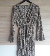 Animal print haljina novo