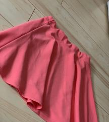 H&M pink mini suknja