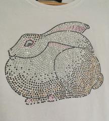 Zara majica sa raznobojnim kamenčićima