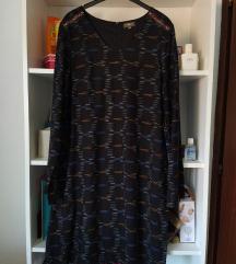 Nova Surkana teget plava haljina