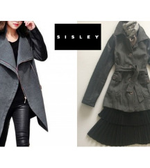 %%3000 original SISLEY-jakna kaput