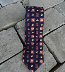 Retro kravata 100% svila