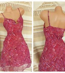 RUSSO CONTI ✽ baršunasta dvoslojna haljina