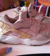 Nike Huarache rose gold 33