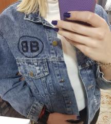 Balenciaga teksas jakna