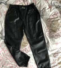 Kožne pantalone nove!