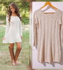 Zimska haljina 50% vuna