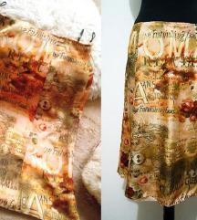 Betty Barclay suknja-vintage print
