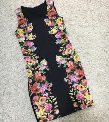 Uska haljina sa cveticima
