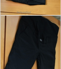 5.5. Crne M trudničke pantalone