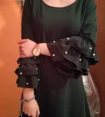 Haljina sa zvonastim rukavima