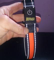 Romeo svetleca ogrlica-duzina kaisa 65 cm