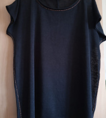 Yessica crna baggy bluza