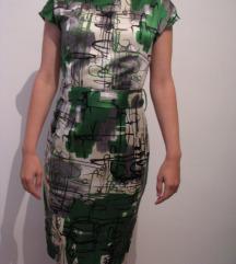 HALLHUBER haljina /kao da je svilena/ NOVO