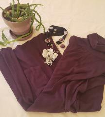 Legend haljina/tunika sa roll kragnom
