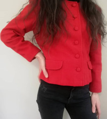 Vintage crveni blejzer