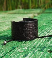 Kožna narukvica Black Mamba (Prirodna koža)