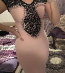 Roze(puder) haljinica