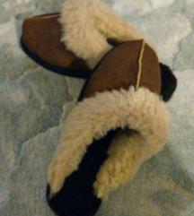 Krznene zimske tople papuče