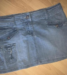 Mini teksas suknjica 30 - Vikend akcija
