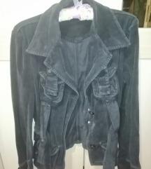 Happening crna somotska jakna