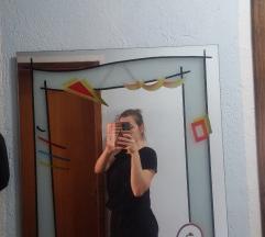 ZARA crna haljina S