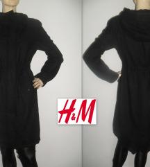 H&M vuneni kaput, model kao parka!!