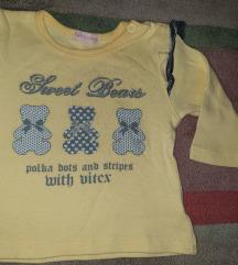 Dux za bebe devojcice sa karnercicima 68 cm