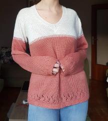 Džemper u dve boje 🌺