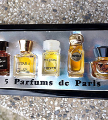 set  vintage parfema