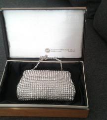 Vecernja torbica od kristalnih perli