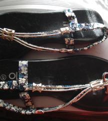 Floral japanke/sandale nove