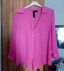 Roze bluza baggy S