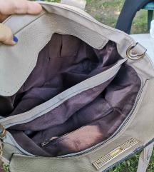 Sivo bež torba