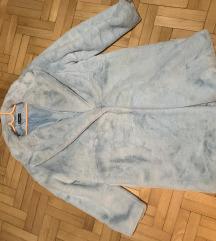 Baby plavi teddy coat