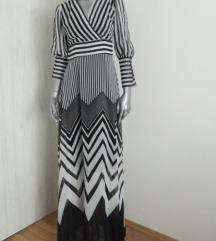Nova crno-bela haljina, snizena na 2500