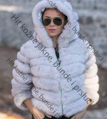 Bunda od krzna polarne lisice