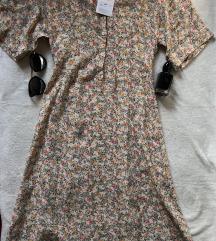 ZARA NOVA floral letnja haljina viskoza M