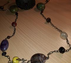 Šarena ogrlica + poklon narukvica