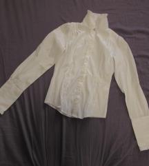 25. Košulja dugih rukava, strukirana, ruska kragna